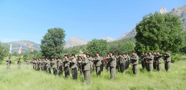 Clashes between Kurdish guerrillas and Iranian forces in Ûrmiye