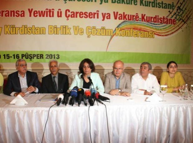 Amed conference for Democracy and Peace, final resolutions
