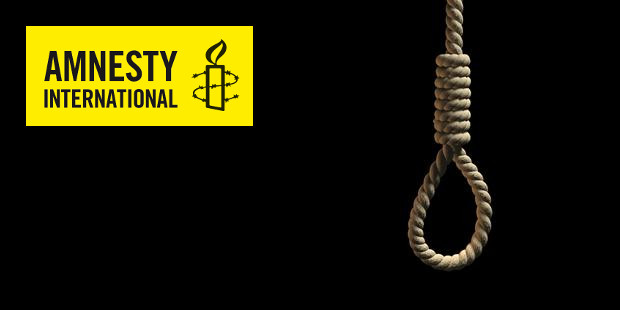 Executions in Iran & Logo Amnesty International