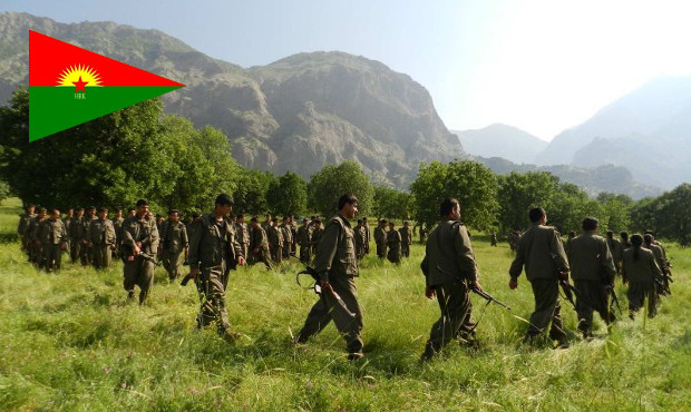 Clashes between Eastern Kurdistan Forces (HRK) and Iranian Revolutionary Guards in Rojhelat