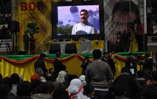 Öcalan‎'s message has been read in the ten thousands BDP Youth's congress