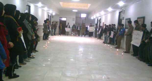 In Payame Noor University in Meriwan a memorial was held in memory of Helebce