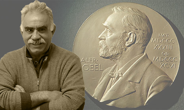 Abdullah Öcalan nominated for the Nobel Peace Prize