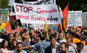 Demonstration against ISIS in Europe