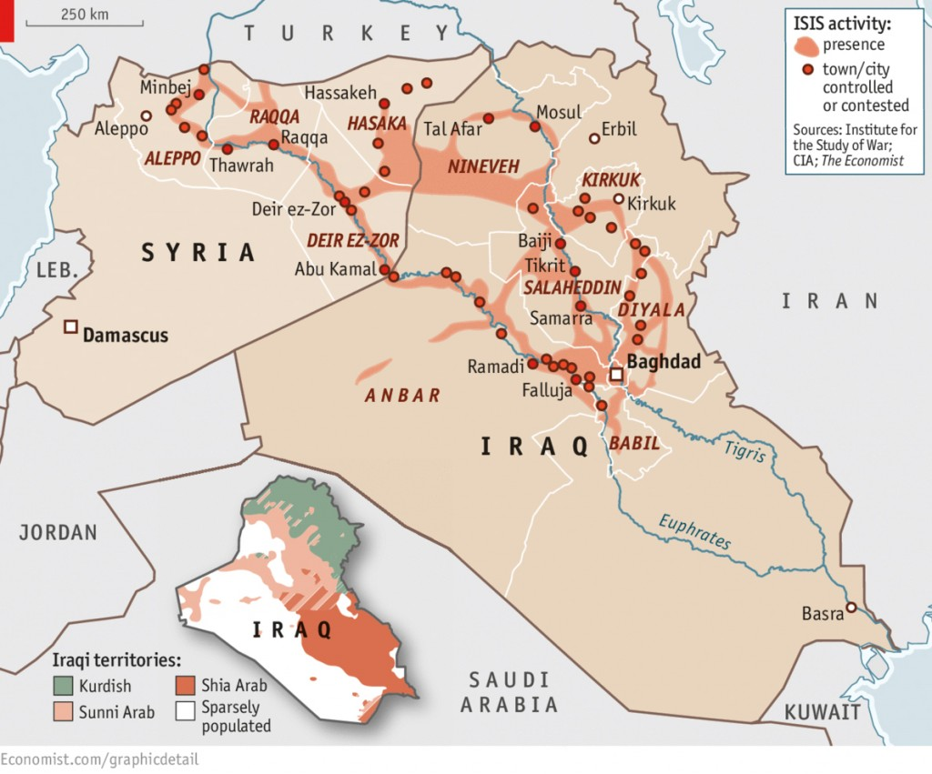 ISIS Activity - Map