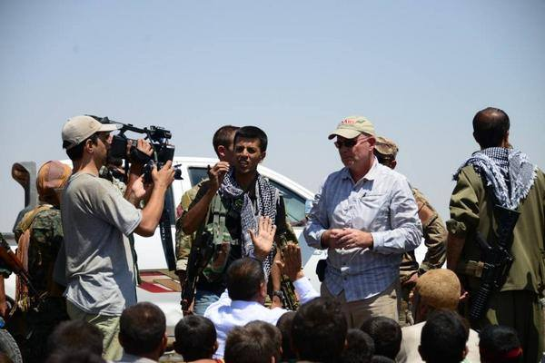 Who ended Shengal Siege: USA or Kurdish People Defense Force?