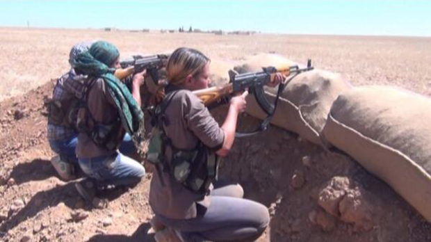Announcement by Kengawer's political and cultural activists in support of Kobanî resistance