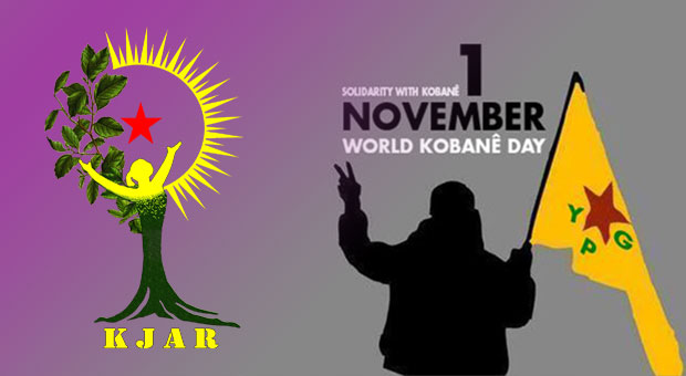 KJAR coordination invites Kurdish nation and every freedom seeker to the streets for Kobanê
