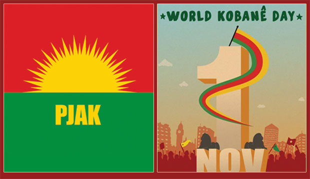Co-Chair of PJAK encourages the people of the world to participate in World Kobanê Day
