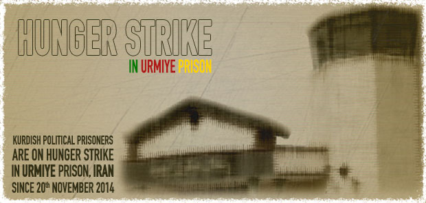 Report: 27th day of hunger strike by Kurdish political prisoners in Urmiye's central prison