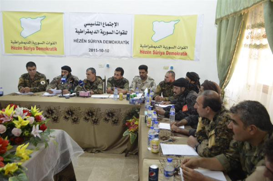 Declaration of Establishment by Democratic Syria Forces