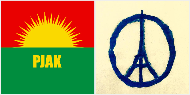 PJAK condemns the massacre in Paris / English and Swedish
