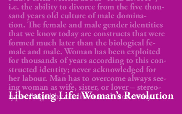 Liberating Life - Woman's Revolution