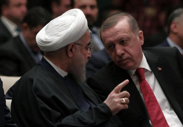 Rouhani in Ankara: PKK and PJAK common enemies of Turkey and Iran