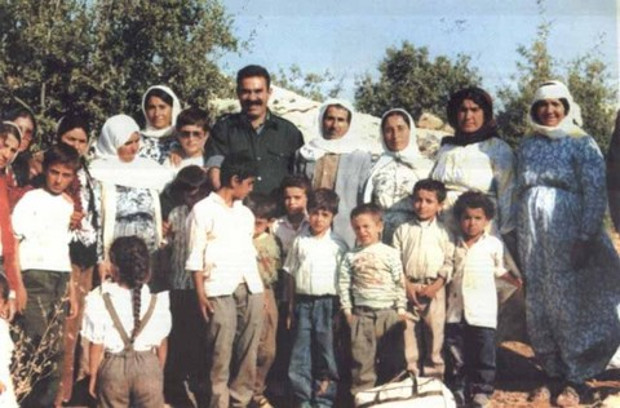 Abdullah Öcalan 37 years ago in Rojava