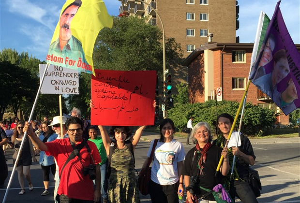 Support for Öcalan's freedom and autonomy at 16th World Social Forum