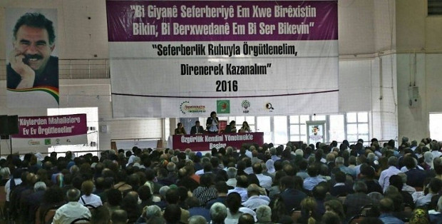 Kurdish constituents declare mobilization against genocidal onslaught