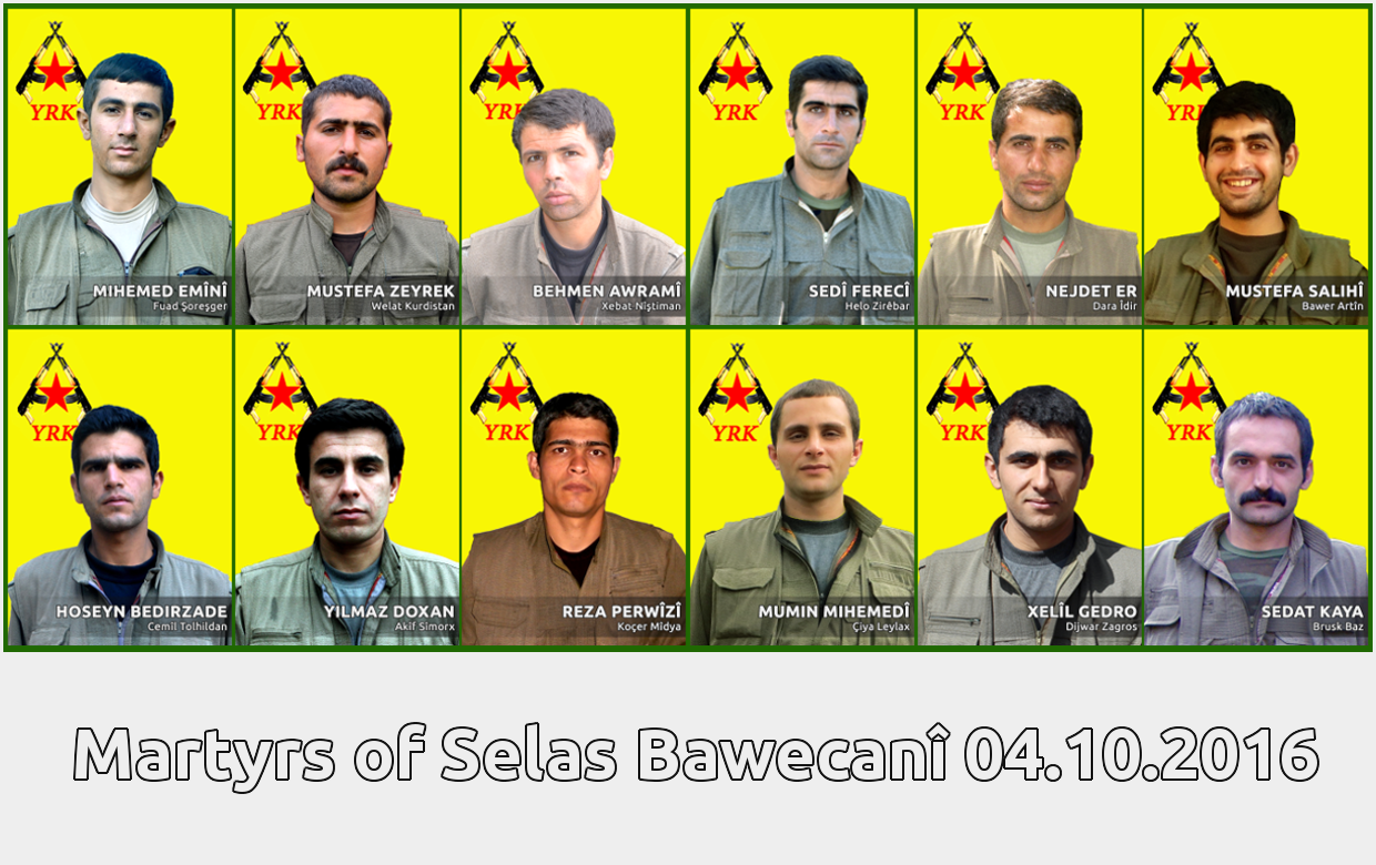 Conflicts between YRK and Iranian regime's troops in Selas Bawecanî