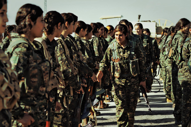 YPJ Freedom Fighters.