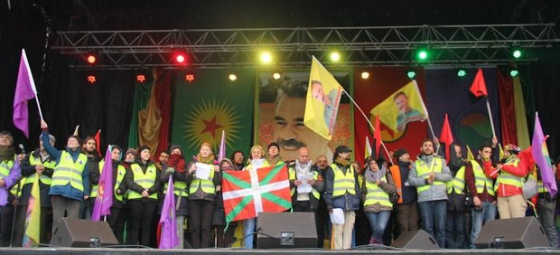 15,000 people gather in Strasbourg to demand freedom for Öcalan