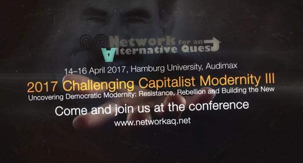 "3rd conference of ""Challenging Capitalist Modernity"" will be held on April in Hamburg"