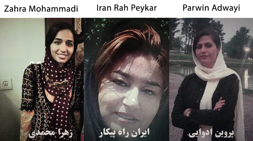 Detention continuation of three female Kurdish activist