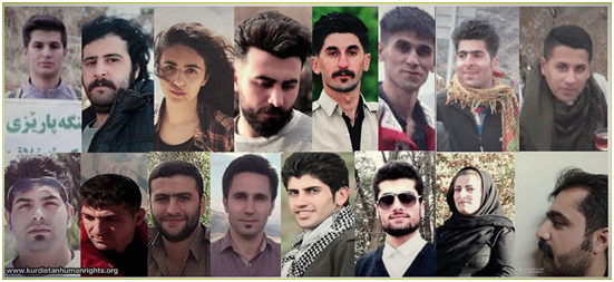 With the arrest of 13 Kurdish citizens over the past two days, the number of recent detainees has risen to 41.