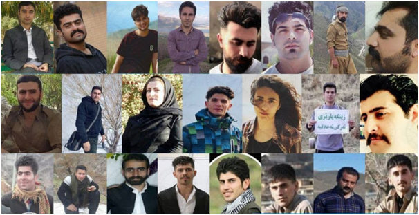Iran Confederate: Call for participation to take actions to end the machine of execution and repression in Iran and the unconditional release of the recent detainees in Kurdistan and all political prisoners of the Iranian people!
