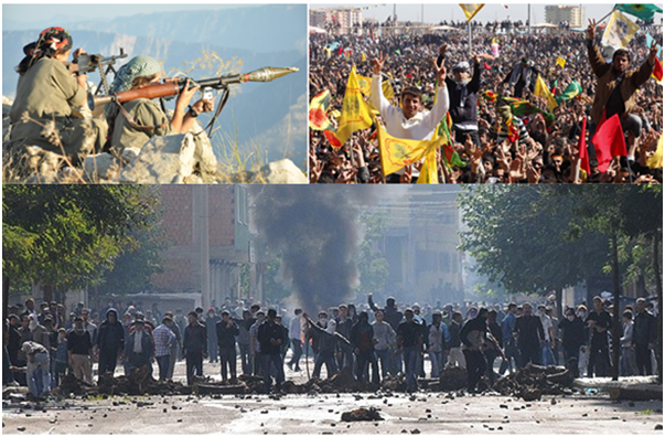 The complementary circle of Guerrilla resistance is the flawless uprising of our people