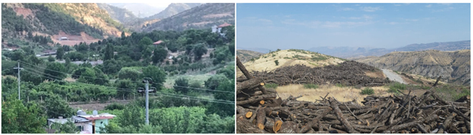 47 villages have been evacuated due to the Turkish army attacks in the Southern Kurdistan / deforestation by the Syrian mercenaries and hirelings.