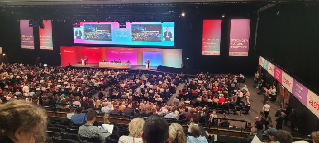 KNK, KJAR and PJAK representatives have participated the Annual Conference of the Labour Party in the UK.
