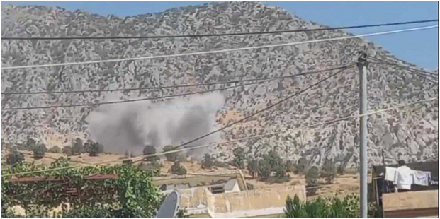 Turkish jets bomb Kurdish villages with chemical weapons amid calls for war crimes investigations