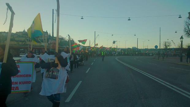 Hatred of Stockholm Kurds towards execution policies of Iran